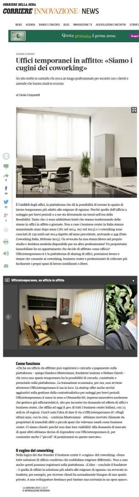 Uffici temporanei in affitto Airbnb privati