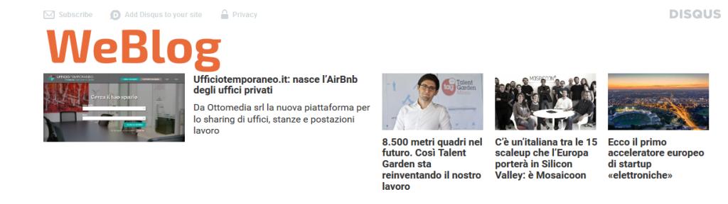 Ufficiotemporaneo.it - Talent Garde