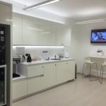 Padova kitchen area Regus