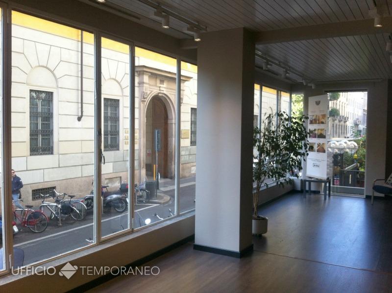Milano show room temporaneo ufficio temporaneo for Uffici condivisione milano